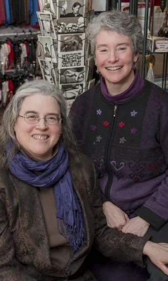 Myrtle Wilhite and Ellen Barnard