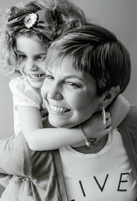 Heather McManamy and her daughter.