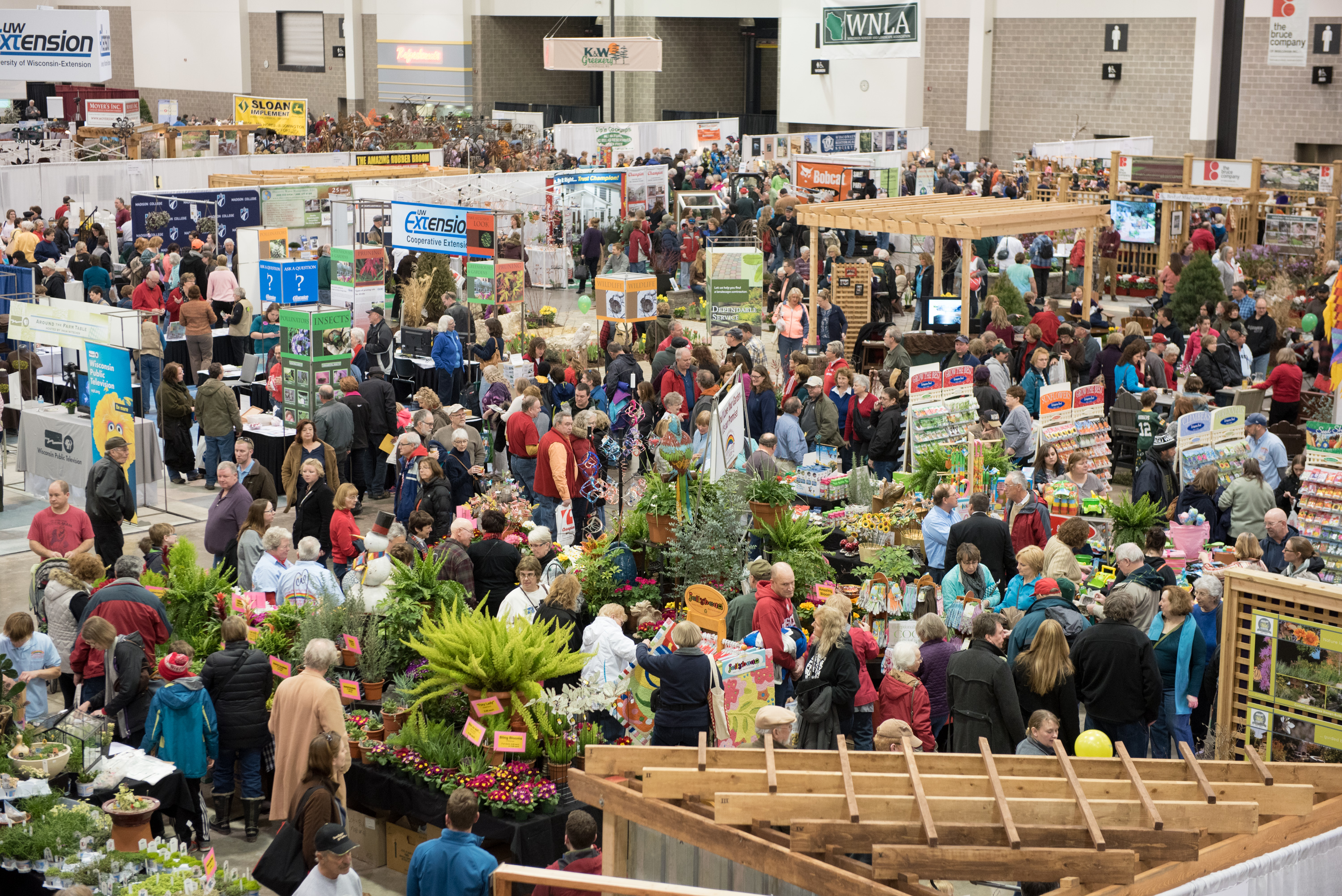Garden Expo Is A Three Day Event Designed To Celebrate The Latest Trends In  Gardening, Landscaping And Edibles. The Show Features Hundreds Of Exhibitor  ...