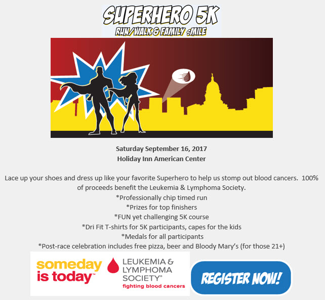 Super Hero 5K run/walk and Family sMile | BRAVA Magazine