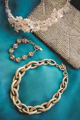 Jenny Bird Sloane Collar, $125; Twigs.