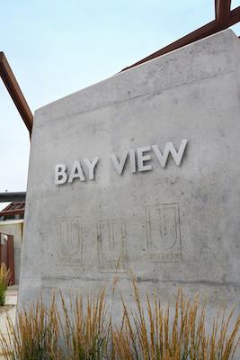 Bay View neighborhood sign