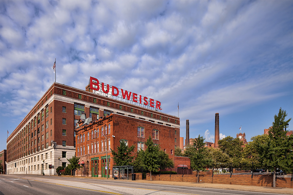 Anheuser-Busch Brewery  Photo courtesy Gordon Radford
