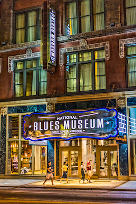 National Blues Museum  Photo courtesy Gordon Radford