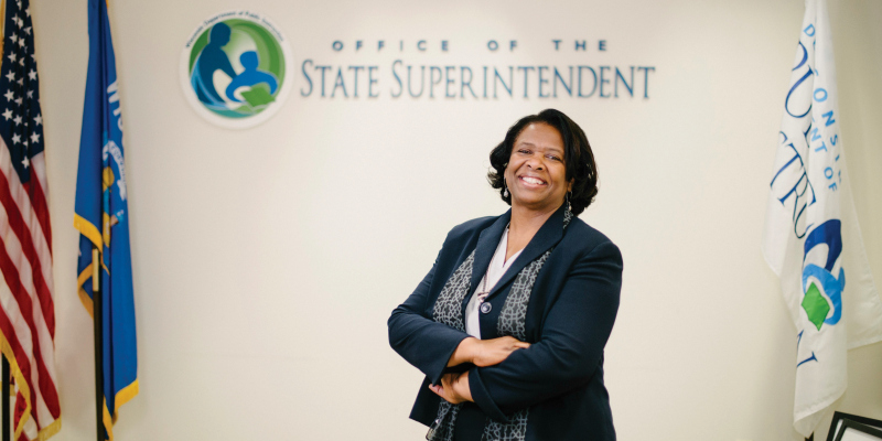 Meet Superintendent of Schools Carolyn Stanford Taylor