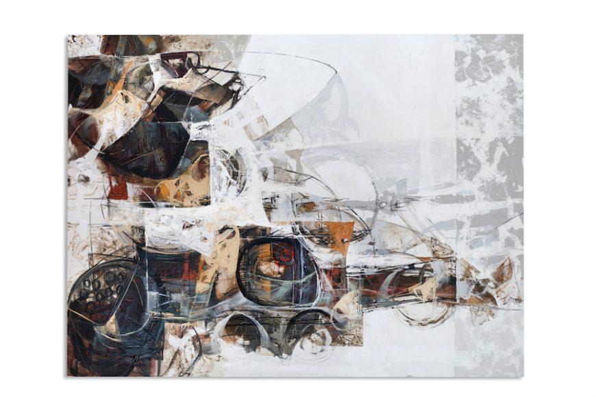"""Rasgos de Vida"" by Americo Ccala, oil on canvas, $300, Middleton Art & Framing"